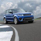 Range Rover Sport SVR - En pista