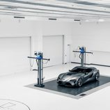 Toyota FT-1 grey concept - laboratorio