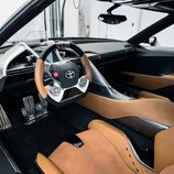 Toyota FT-1 grey concept - interior