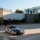 Toyota FT-1 grey concept - exterior tres cuartos