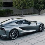 Toyota FT-1 grey concept - exterior rear