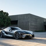Toyota FT-1 grey concept - exterior
