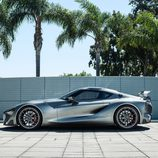 Toyota FT-1 grey concept - lateral