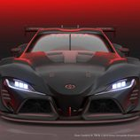 Toyota FT-1 Vision GT Race Concept - frontal