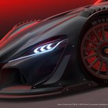 Toyota FT-1 Vision GT Race Concept - faros