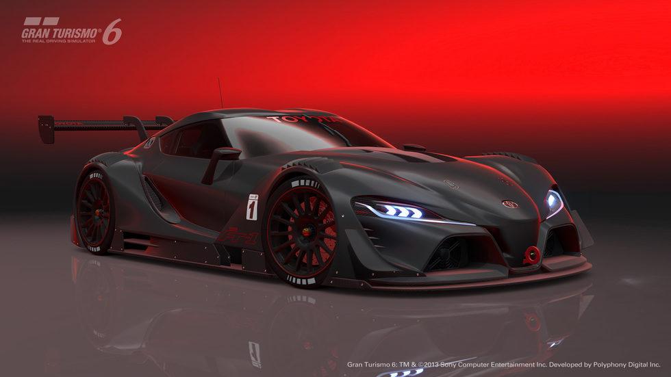 Toyota FT-1 Vision GT Race Concept
