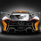 McLaren P1 GTR - zaga