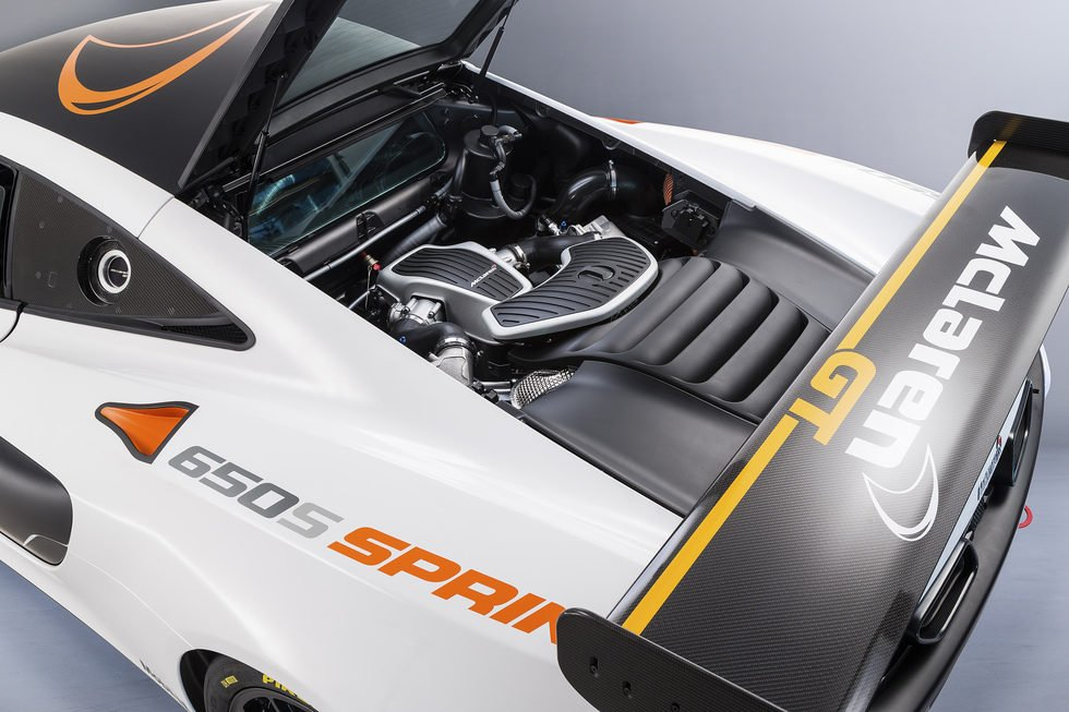 McLaren 650S Sprint - motor