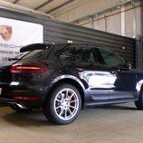Prueba del Porsche Macan Turbo - Trasera