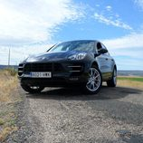 Prueba del Porsche Macan Turbo - Exterior frontal