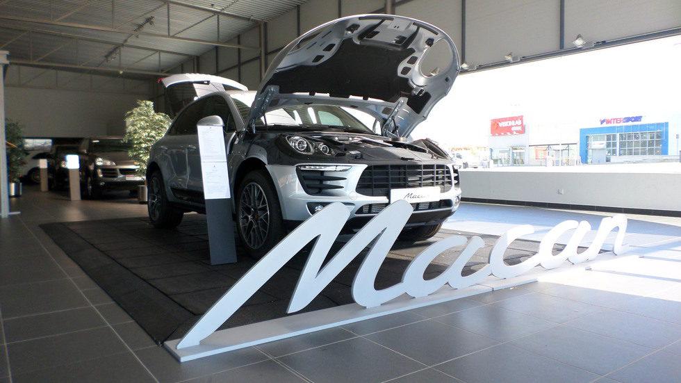 Porsche Macan S Diesel - Expo
