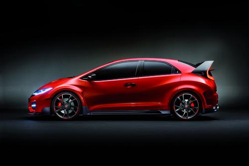 Honda Civic Type-R Concept perfil