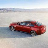 Presentación Jaguar XE -tres cuartos trasero