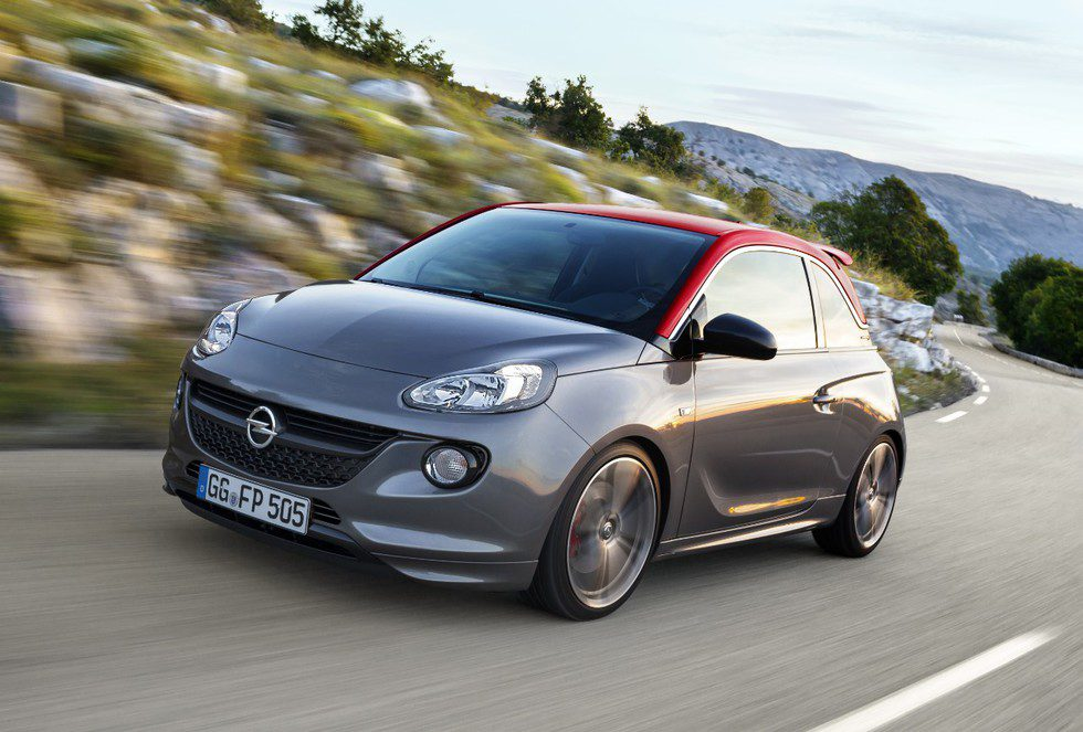 Opel Adam S 2015 - En movimiento