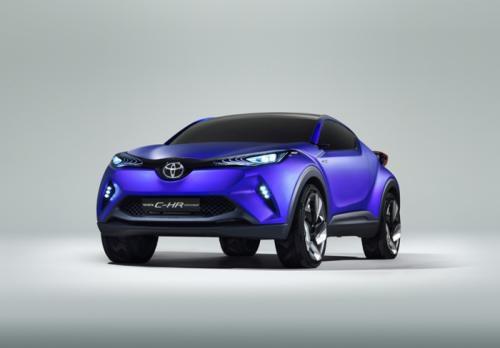 Toyota C-HR concept - delantera