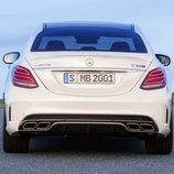 Mercedes-Benz C63 AMG S - Trasera