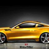 Saleen Mustang S302 - perfil