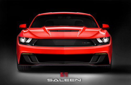 Saleen Mustang S302 - frontal