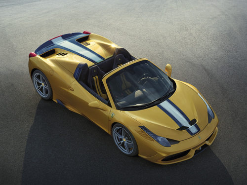 Ferrari 458 Speciale A - aérea