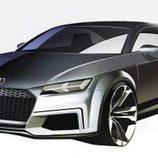 Audi TT Sportback concept - boceto