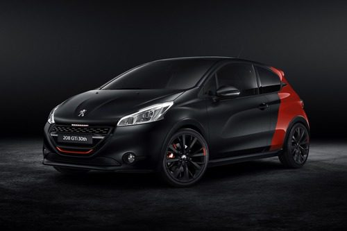 Peugeot 208 GTI 30th - Frontal