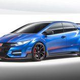 Honda Civic Type-R Concept II - delantera