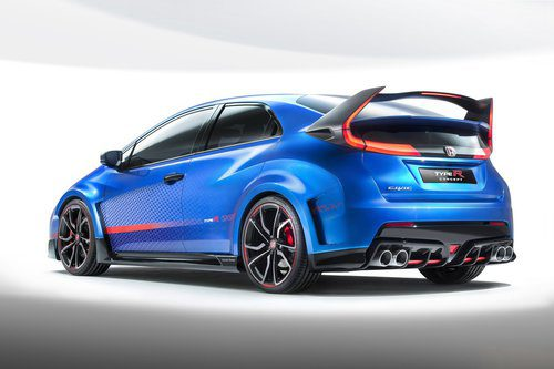 Honda Civic Type-R Concept II - trasera