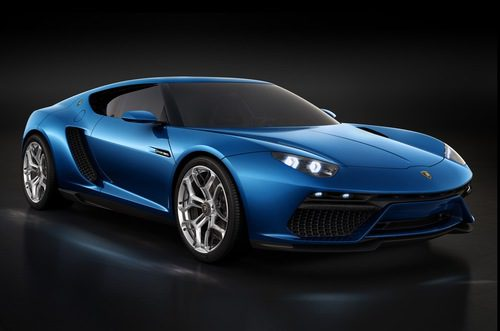 Lamborghini Asterion Hybrid Concept - Frontal