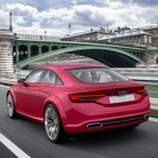 Audi TT Sportback concept - rodando