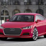 Audi TT Sportback concept - frontal