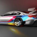 Boceto trasera BMW M6 GT3 2016