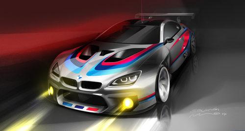 Boceto BMW M6 GT3 2016