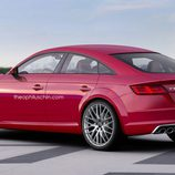 Audi TT Sportback Render trasera