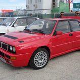 Lancia Deltona rojo
