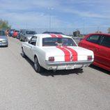 Mustang saliendo