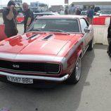 Chevrolet Camaro SS rojo