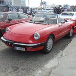 Alfa Romeo Spider abierto