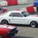 Ford Mustang blanco