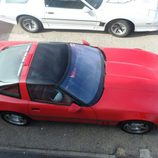 Plano cenital del Corvette C4