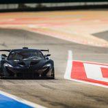 McLaren F1 GTR - saliendo a pista