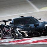 McLaren P1 GTR - pruebas frontal