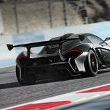 McLaren P1 GTR  zaga