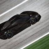 McLaren P1 GTR - aérea