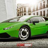 Lamborghini Huracan base by X-Tomi