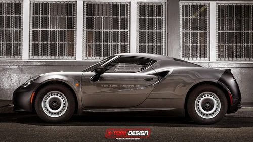 Alfa Romeo 4C base by X-Tomi