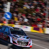 Thierry Neuville en Riudecanyes