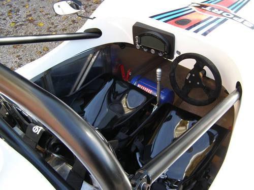 ATS Sport 490 Stradale - cockpit
