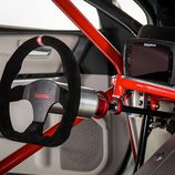 Toyota Camry Dragster - detalle volante