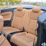 Prueba: Opel Cabrio - Asientos traseros