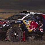Posado en solitario del Peugeot 2008 DRK